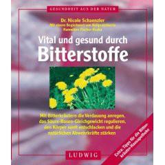 """Buch """"Vital und gesund durch Bitterstoffe"""""""